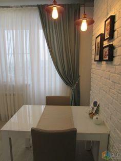 Из однушки - mini двушка, или Студия 38 м2. Кухня