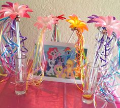 8 My Little Pony Party Favors, My Little Pony Birthday Favors, My Little Pony Wands, Princess Party Favors, Fairy Princess Wands by partiesandfun on Etsy https://www.etsy.com/listing/157849482/8-my-little-pony-party-favors-my-little