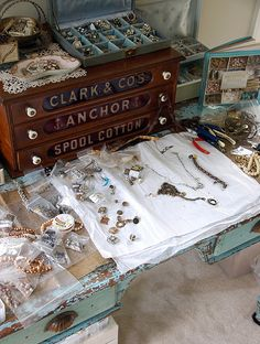 Bead Table Wednesday - Bead Soup! by sweetbeadstudio2009, via Flickr