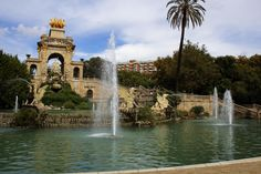 Parc Citadel Barcelona - This park is so fun we have to go! we can ride bikes and have a picnic