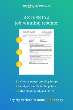 Our Resume Builder allows you to create a perfect resume in minutes. Our resume builder includes job-specific resume examples, templates, and tips. Resume Help, Job Resume, Resume Tips, Resume Ideas, Resume Writing Tips, Writing Skills, Creation Cv, Le Cv, Job Info