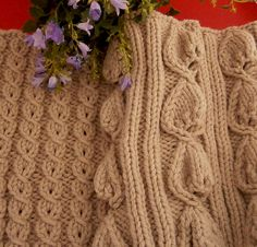 Free Pattern: Architectural Cowls by Maria Rosa Spighetti