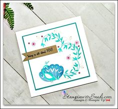 Beautiful Peacock Stampin Up create this card with the Beautiful Peacock stamp set from stampin up free with a $60.00 product order