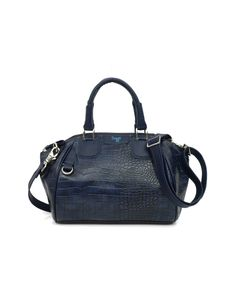 A workbag sporting faux crocodile skin by Baggit, aimed at strong sensual women.
