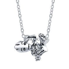 The GotG Sterling Climbing Groot Slider Necklace will have Groot hanging on your neck looking playful. It features a solid nickel-free sterling silver pendant Fandom Jewelry, Geek Jewelry, Batman Jewelry, Gothic Jewelry, Toothless And Stitch, Marvel Fashion, Groot Guardians, Marvel Clothes, Disney Jewelry