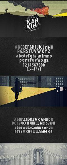 Alexey Frolov – Kánkin© Free Font