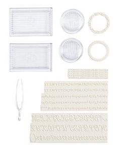 Select letter stamps, press them into a fabric ink pad and stamp kids' name or initials on twill tape.  Great for labeling clothes!  Martha Stewart Crafts Your Own Stamp Set by Martha Stewart Crafts, http://www.amazon.com/dp/B0046NPE5I/ref=cm_sw_r_pi_dp_gTc6rb1CSN8F8
