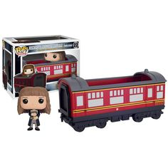 This is the Harry Potter POP Rides Hogwarts Express Carriage With Hermione Figure that is produced by Funko. It's neat to see that Funko decided to give the Hogwarts Express it's own POP rides treatme