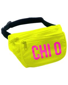 Fannypacks! Except for Tri Sigma of course.