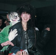 Leigh Bowery and Gerlinde Costiff at Taboo in 1985