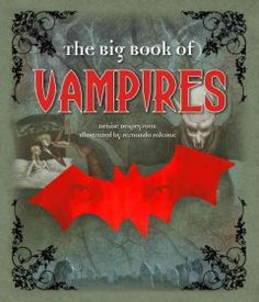 A beautifully illustrated, creepy collection of vampire lore from around the world is a perfect collection for Halloween reading.