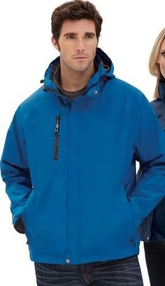 Big Mens Caprice 3-In-1 Jacket With Soft Shell Liner by North End®