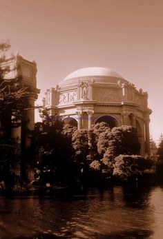Palace of Fine Arts..one of my favorite Christmas card pictures of you and Hayley was inside, under the dome.