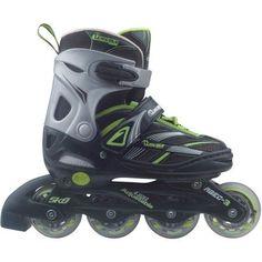 Chicago Adjustable Inline Skate, Size 1-4, Black