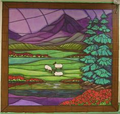 23rd psalm stained glass - Google Search