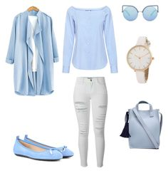 """""""Sin título #296"""" by jocelin-cra on Polyvore featuring moda, Theory, Frame, Tod's y Matthew Williamson"""