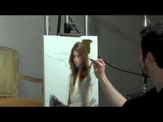 Casey Baugh Demo at Scottsdale Artists' School - YouTube