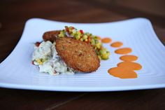 Crab Cakes- KaseysRVC.com #Kaseys #Kitchen #RVC #LongIsland #delicious #menu #options #comfort #food #Rooftop32 #Crab #Cakes