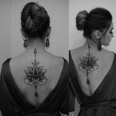 My lotus flower tattoo ❤ #inspiration #unique #mine #arrowtattoo #happy #forever