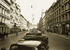 Die Schwanthalerstraße 1937. Foto: Volk Verlag/Stadtarchiv München