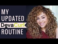 *Updated* DevaCurl Routine + Review!   Curly Hair - YouTube
