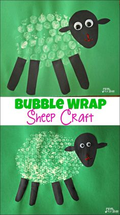 Bubble Wrap Sheep Craft – the perfect Spring craft for kids!: Informations About Bubble Wrap Sheep Craft Pin You can easily. Animal Crafts For Kids, Spring Crafts For Kids, Summer Crafts, Toddler Crafts, Art For Kids, Sheep Crafts, Farm Crafts, Crafts To Do, Easter Crafts