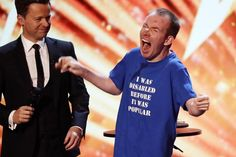 Britain's Got Talent winner: Lost Voice Guy crowned 2018 champion — Evening Standard Lost Voice, The Voice, Britain's Got Talent, Disability, Champion, Hilarious, Guys, People, Hilarious Stuff