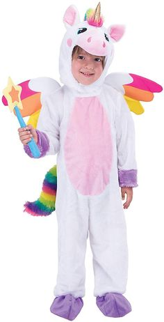 3d7910158ec Spooktacular Creations Unicorn Costume Deluxe Set for Kids Halloween Animal  Dress Up Party