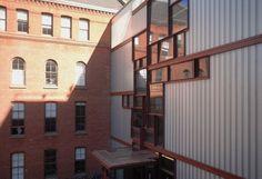 Steven Holl Architects — Pratt Institute - Higgins Hall Insertion