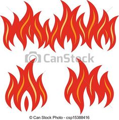 BBQ Flames Clip Art | , stock clip art icon, stock clipart icons, logo, line art ...