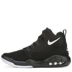 Nike Men s Air Conversion High Top Sneakers Black White