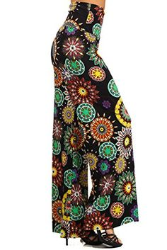 Gaucho, Wide Leg Palazzo Pants, Dressed To The Nines, Floral Tie, Sassy, Mandala, Trousers, Printed, Amazon
