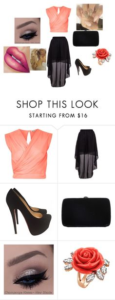"""""""Untitled #228"""" by mackenziekorth on Polyvore featuring River Island, Christian Louboutin, Sergio Rossi, Mawi, women's clothing, women's fashion, women, female, woman and misses"""