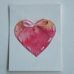 passengers on a little spaceship: make stitched valentines!