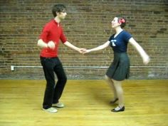 Triple step, and triple step with kick basics. Basic Rock n' Roll Dancing Footwork