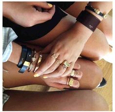 Arm candy ❤❤ RINGS