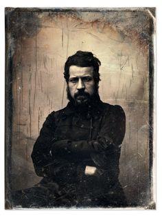 A Gustave Le Gray portrait of sculptor Auguste Clésinger, Old Pictures, Old Photos, Vintage Photographs, Vintage Photos, Gustave Le Gray, Victorian Life, Victorian Fashion, Auguste, French Photographers