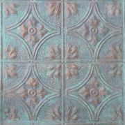 Decorative ceiling tiles from thetinman.com  Would love to replace my drop-in tiles in the basement for this!   Tin Ceiling 12-09 Inch Pattern 12-09