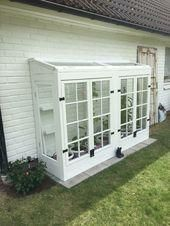 Greenhouse of old windows - - # Katheryn'sGreenhouseGardenin ., Greenhouse of old windows - - ., While ancient throughout strategy, the actual pergola has been suffering from a bit of a current rebirth most of these days. A stylish backyard. Pergola Diy, Pergola Plans, Modern Pergola, Outdoor Pergola, Old Windows, House Windows, Modern Windows, Backyard Greenhouse, Backyard Landscaping