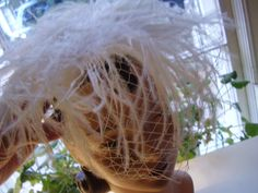 Vintage 1950's 60's White Ostrich Feather Bridal by TheLastPixie, $22.50