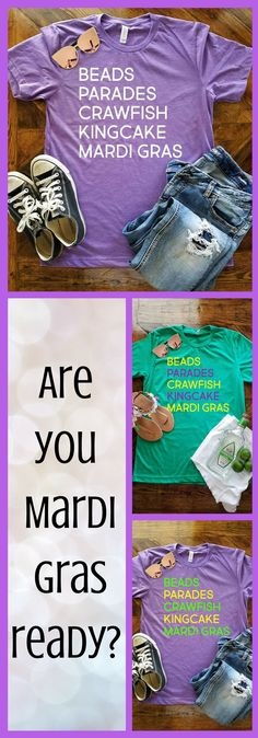 4577e7cbed441 Mardi Gras Hilights Shirt / Mardi Gras Shirt / Fat Tuesday Shirt / NOLA/ Mardi  Gras Greats /Beads / King Cake / Parades / Crawfish / Laissez  #stpatricksday ...