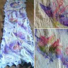#ShamneArt #nunofelting #natalia_franzke_shamne  #filz Nuno Felting, Tie Dye Skirt, Felting, Creative