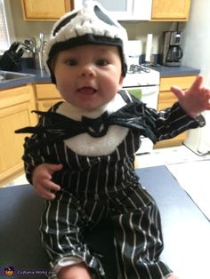 The Nightmare Before Christmas Jack Baby Costume