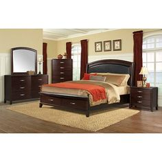 shelby 6 piece king bedroom set. shelby 6-piece queen bedroom set | pinterest king bedroom, sets and 6 piece