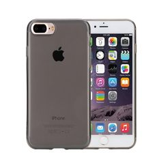 [$2.26] Rock for iPhone 7 Plus Transparent Ultrathin Soft TPU Protective Back…