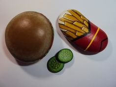 Burger/Fries w/ Pickle Chips