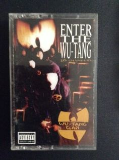 wu tang clan enter the 36 chambers original cassette 1993 rap method man odb