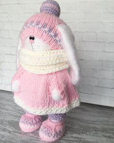 """1,172 Likes, 45 Comments - Knitting Toys (@olga_toys_handmade) on Instagram: """"Дорогие мои я созрела на МК по большим зайчатамтак что все силы сейчас направлены именно на него…"""""""