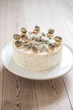 Oprindeligt blev kagen udviklet til Påske, men den kan SAGTENS spises hele året.