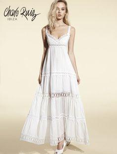 Charo Ruiz Ibiza Fashion, Celebrity Outfits, Linen Dresses, Costume Dress, Boho Wedding Dress, Boho Outfits, Pretty Dresses, Charo Ruiz, Fashion Dresses